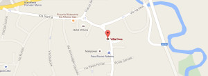 Mappa Villa Dora